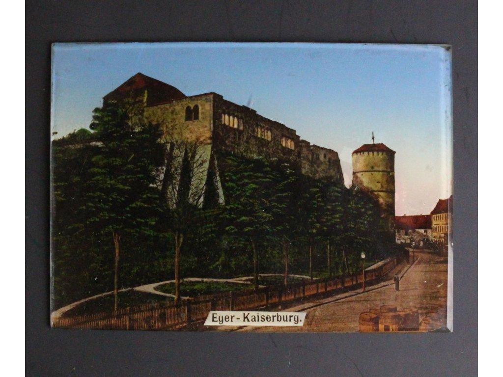 Obrázek na skle Eger Kaiserburg x668 1