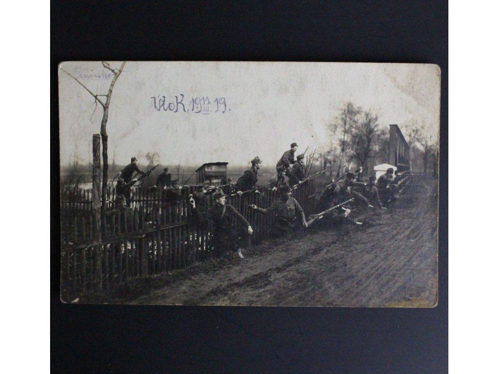 Pohled Útok Těšínsko 11.3. 1919 x672 1