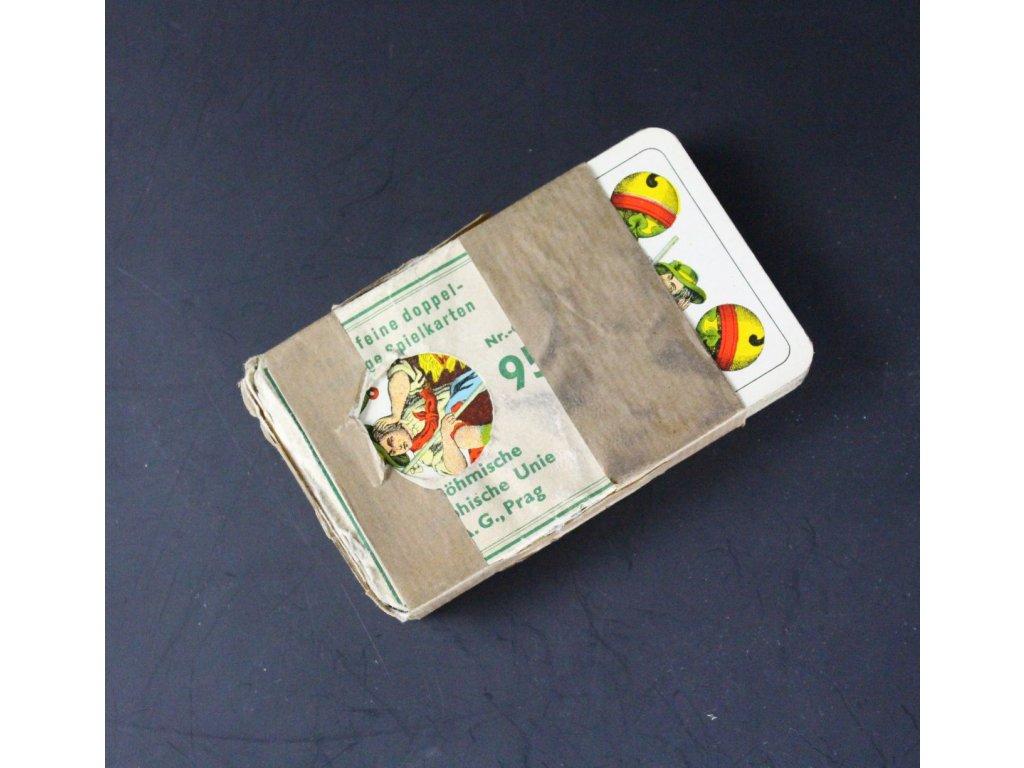 Staré hrací karty Prag Unie Praha x679 1