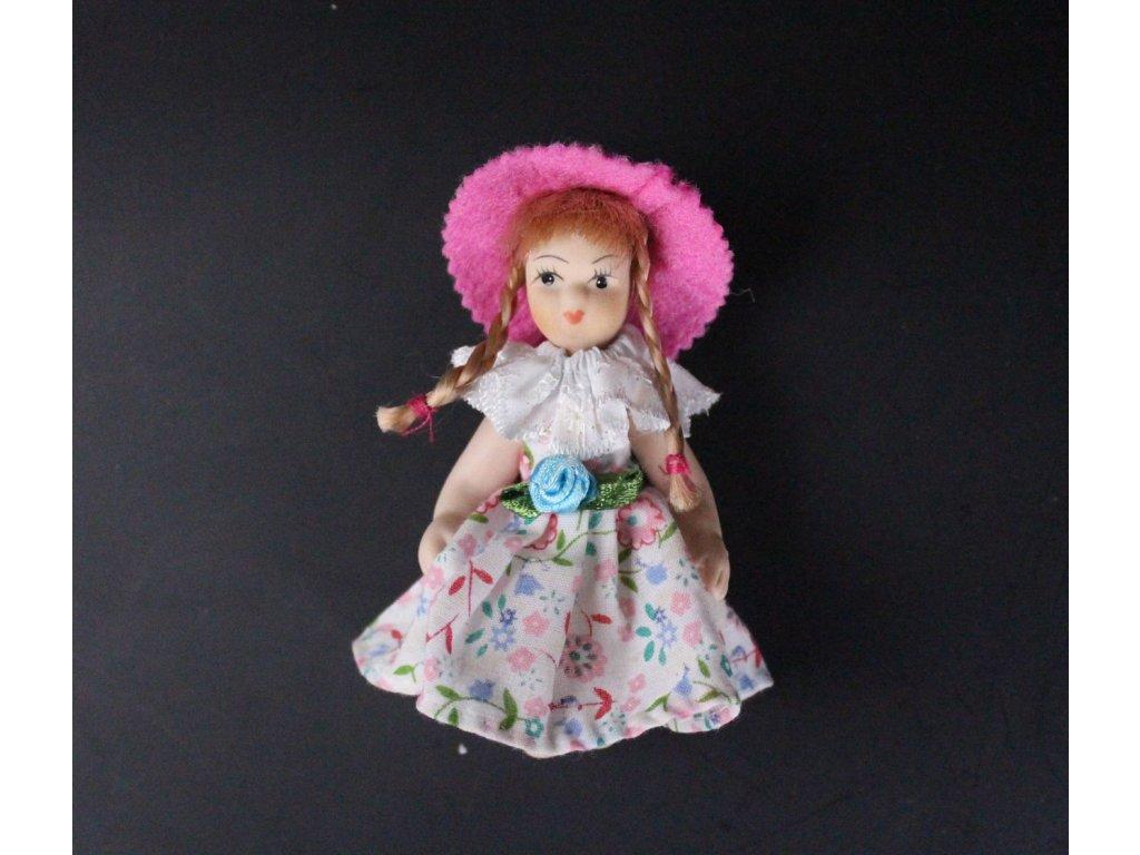 Panenka porcelán ruřový klobouček x683 1