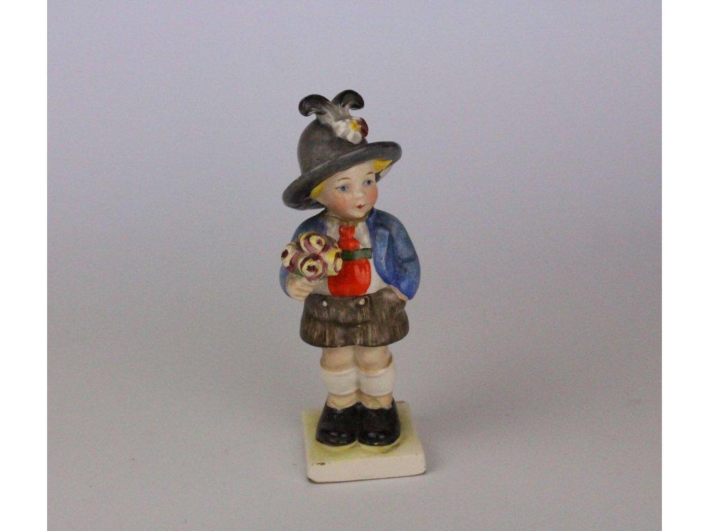 Porcelánová soška chlapeček x698 4