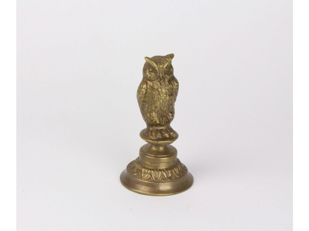 Bronzová soška sova x706 2