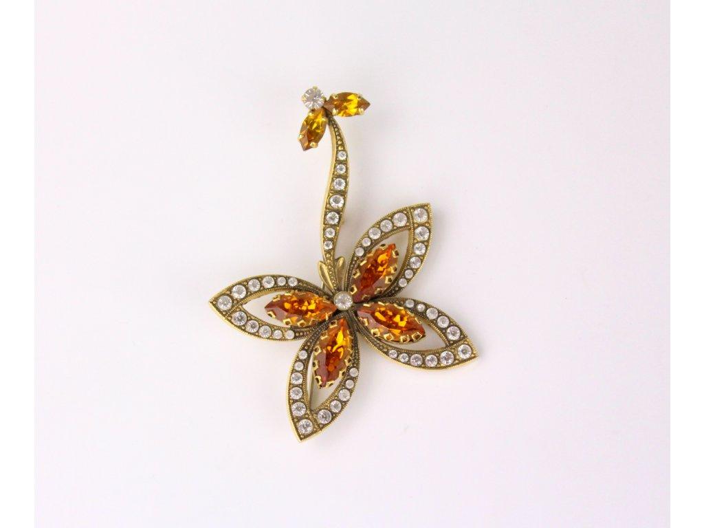 bižuterie brož šperk motýl x728 2