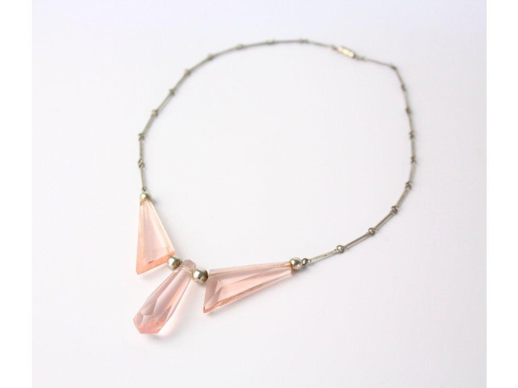 Růžový náhrdelník x739 1