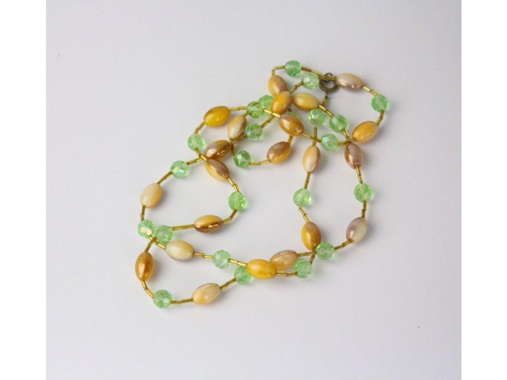 Staré korále zelenokávové x7451