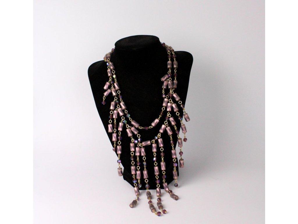 Starý fialový náhrdelník x746 1