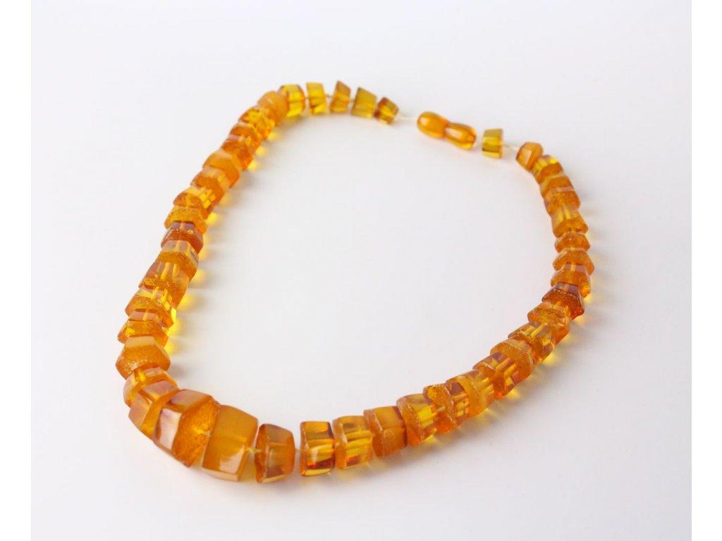 Jantarový náhrdelník x748 3