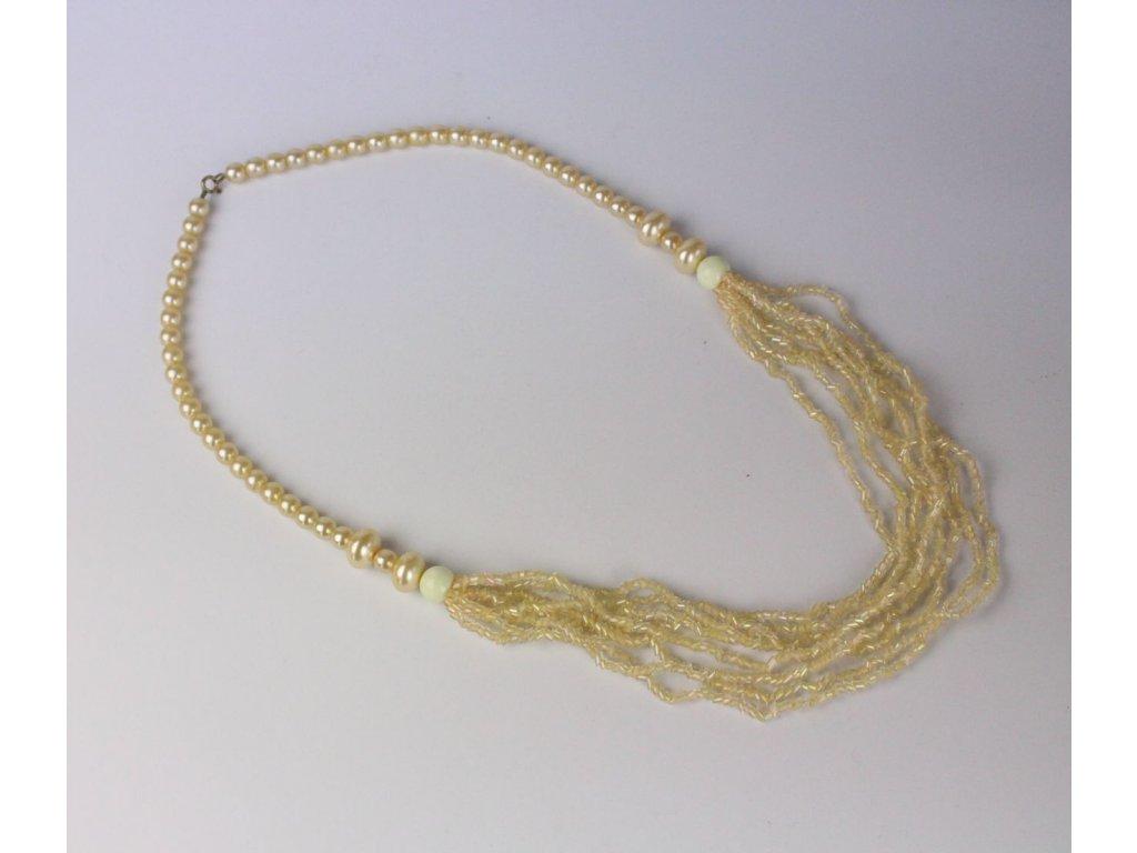Nahrdelník s korálů a perel x753 2