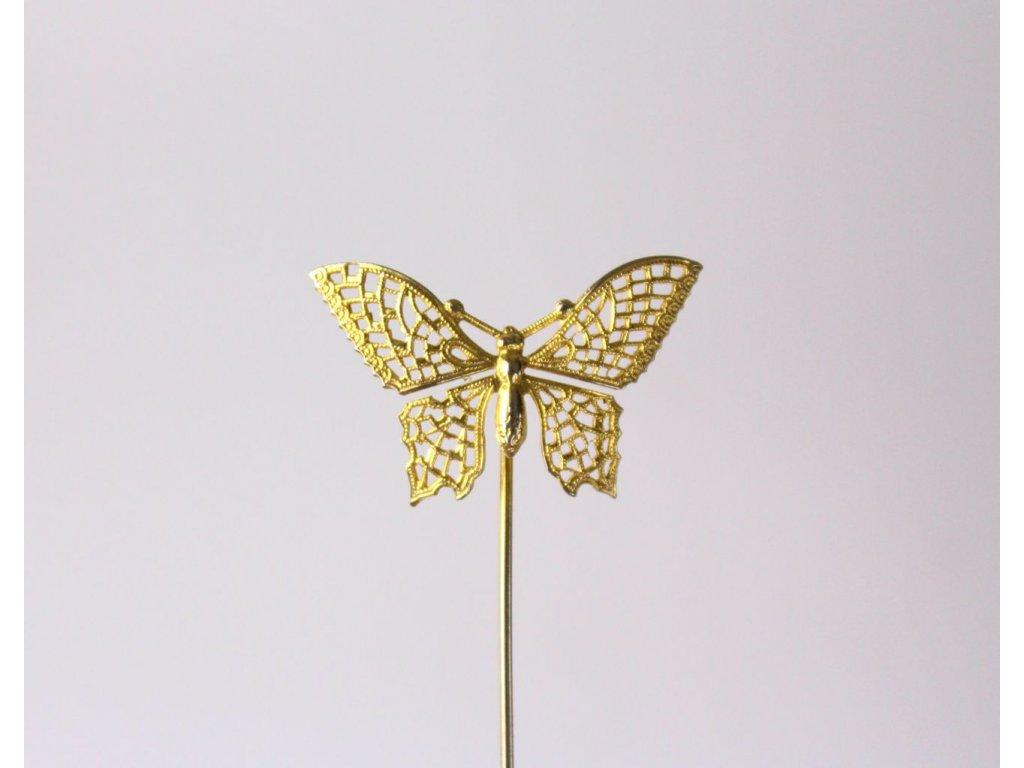 Ozdoba do klopy motýl x778 5