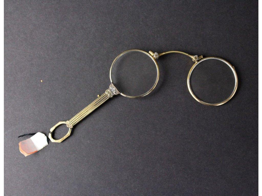 Starožitný lorňon brýle x783 3