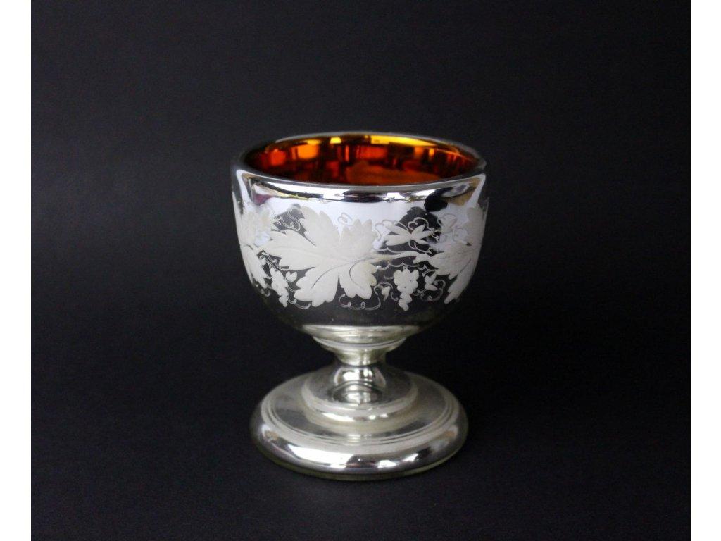 Foukané sklo sklenice pohár mešní x797 2