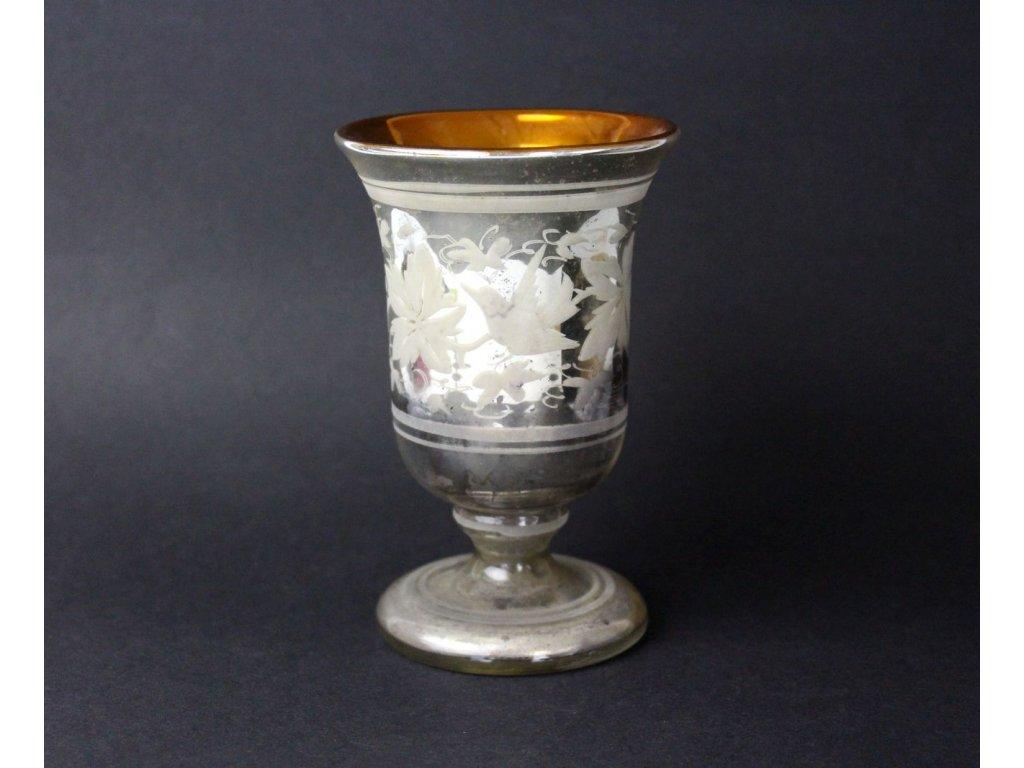 Foukané sklo pohár mešní x798 5