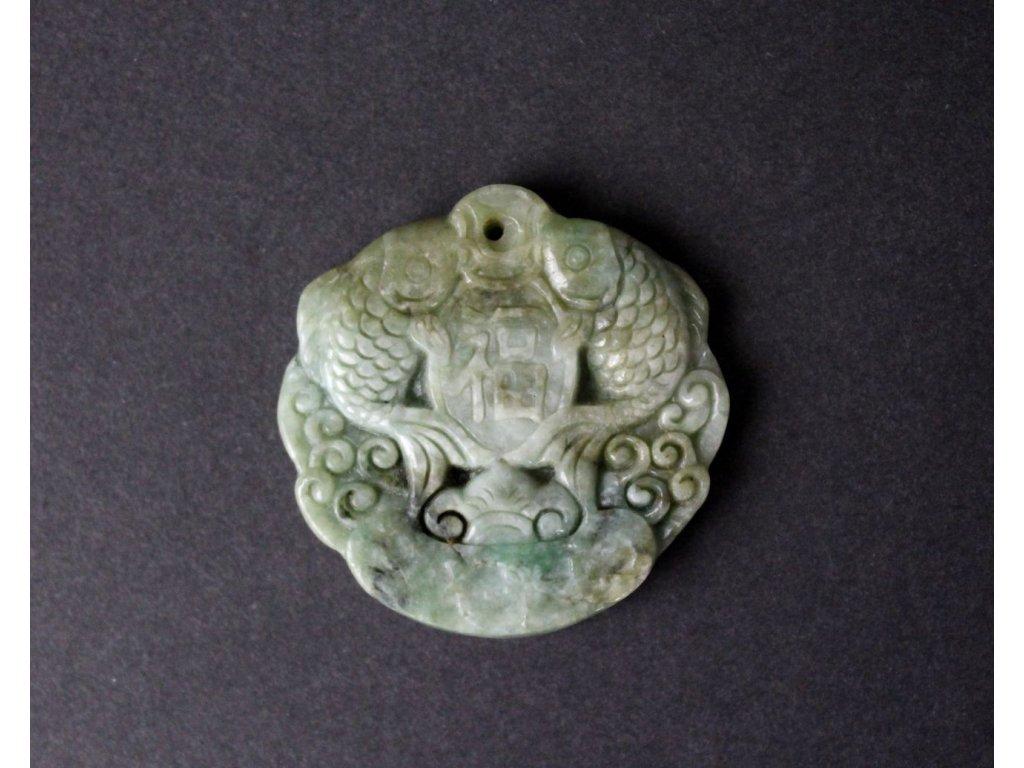 Čínský zelený kámen NEFRIT 2