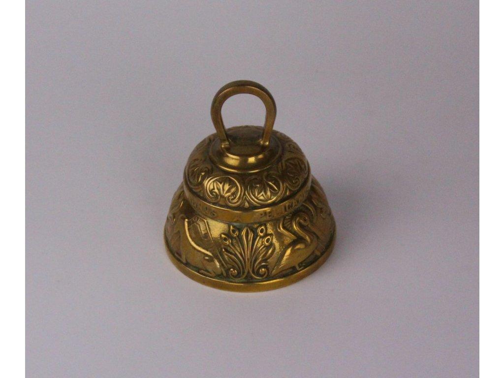 Masivní zvoneček motiv zvířátka x829 4