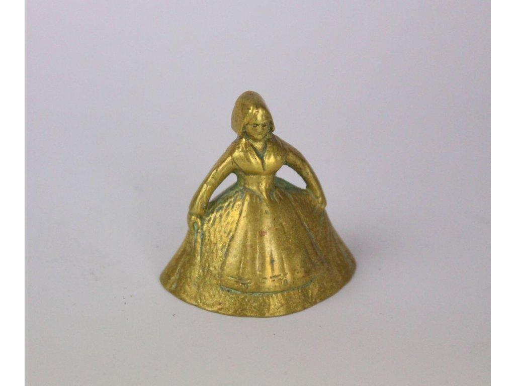 Zvoneček figurka dáma x831 4