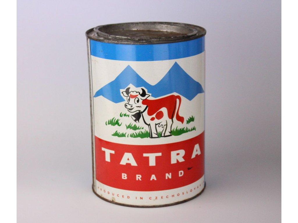 Stará plechovka od mléka TATRA x843 1