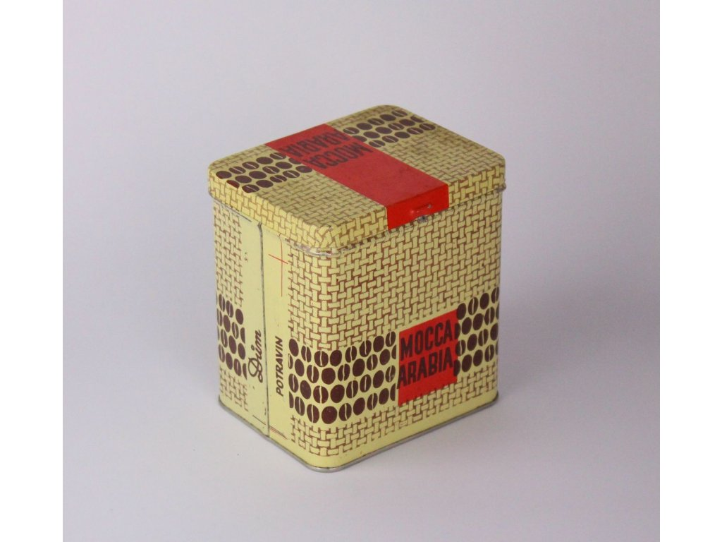 Stará plechovka MOCCA ARABIA Dům potravin x854 6