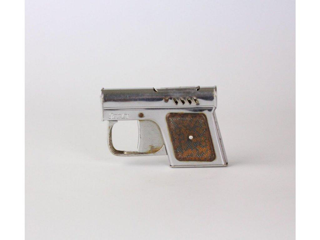 Starý zapalovač pistolka Econ Fagaras x8592