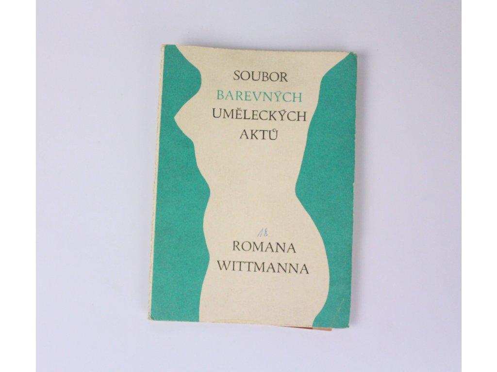 Soubor barevných uměleckých aktu Romana Wittmanna x872 4