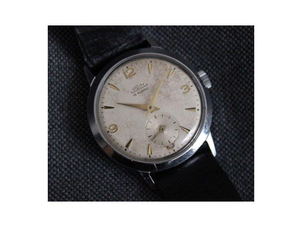 hodinky prim 15 rubínů krásny stav kal. 50 RS1232 1