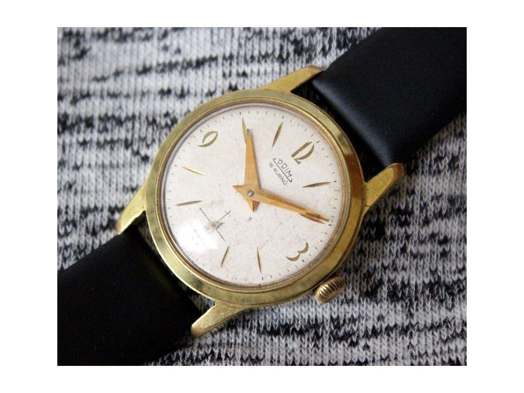 Retro hodinky prim 15 rubínů RS1276 5