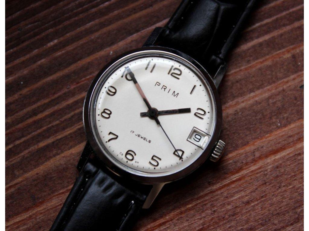 d6971161d5b Retro hodinky Prim chromované - Starožitnosti - GASH.CZ