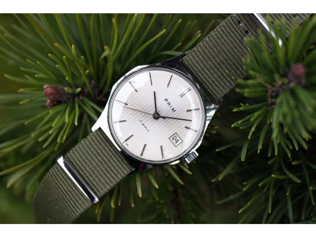 Luxusní hodinky Prim pyžamo chrom RS1382 17