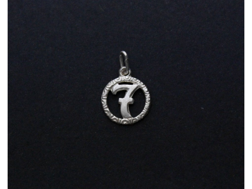 Stříbrný přívěšek SEDMIČKA x931 (3)