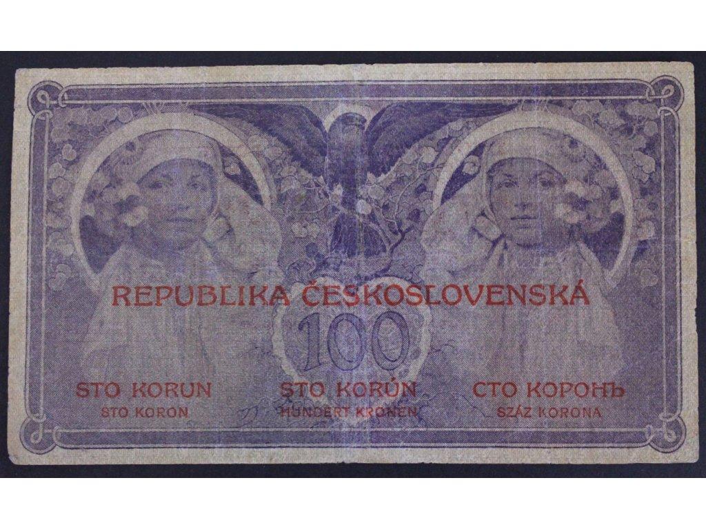 B030 VN 11 100 Kč 1919 (1)
