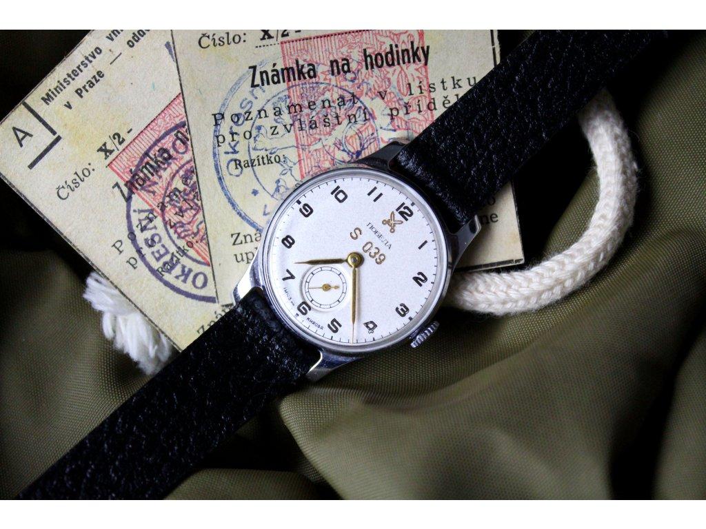 59fcd3d6b Vojenské hodinky POBEDA ev.č. S 039 TOP STAV - Starožitnosti - GASH.CZ