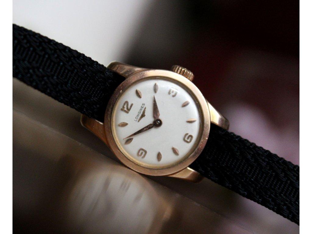 Dámské hodinky LONGINES zlacené - Starožitnosti - GASH.CZ 1d12cd3d9ec