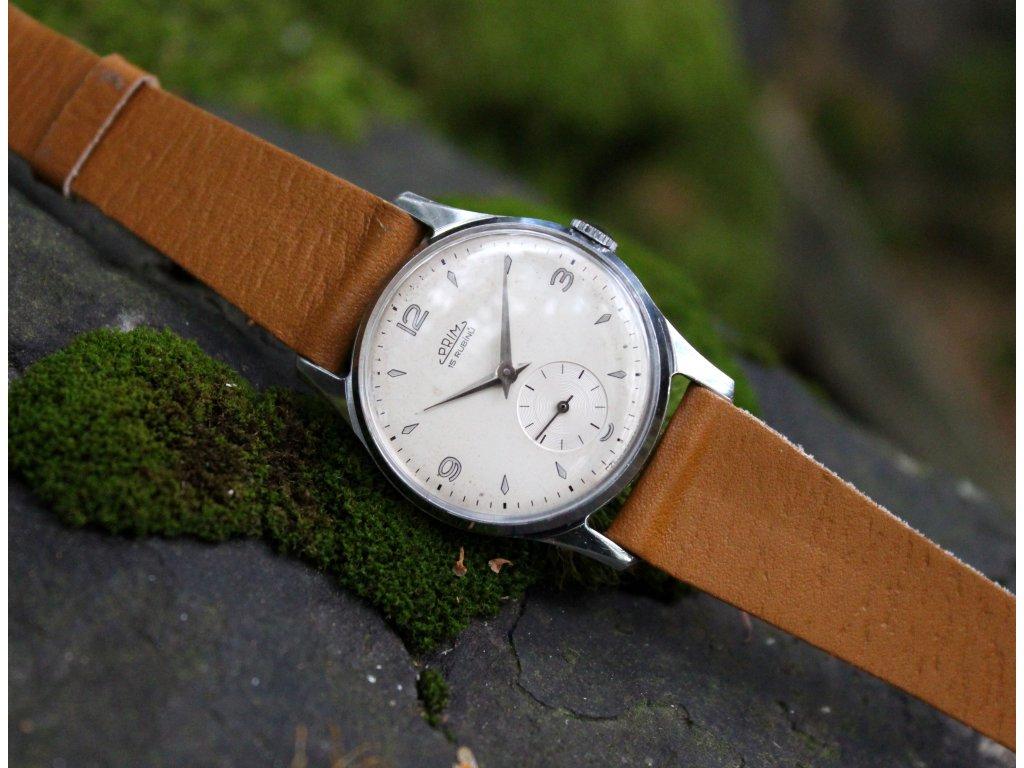 b54556005d7 Retro hodinky Prim 1959 - Starožitnosti - GASH.CZ