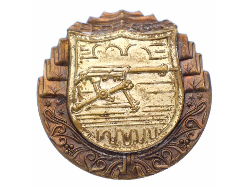 Odznak pro střelce z těžkého kulometu x1936 (2)