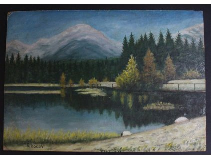 Obraz Krajina J. Říhánek x237 4