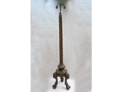 stojanová lampa dřevo pseudo empír x566 9