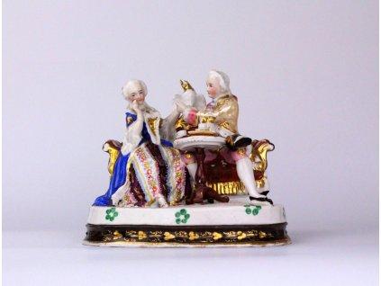 Porcelánová soška kalamář x691 1