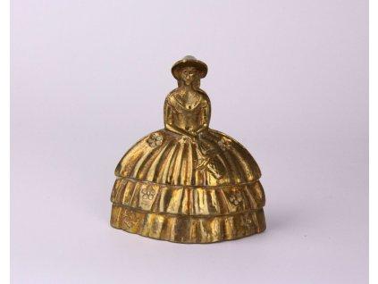 Zvoneček figurka dáma se sukní x8381