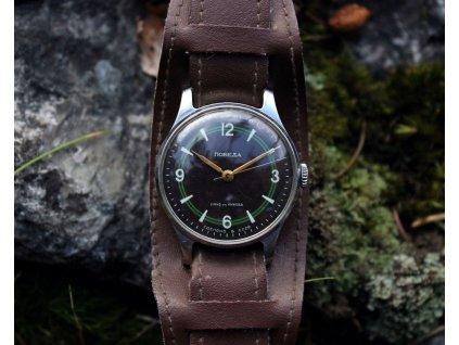 Hodinky Pobeda černo zelený ciferník RS1343 7 2