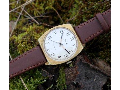 hodinky prim zlacené bílý ciferník RS1417 8