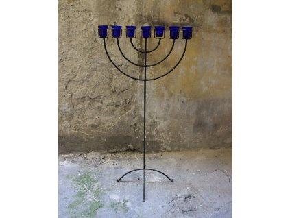 Židovský svícen Menora 126 cm x891 (1)