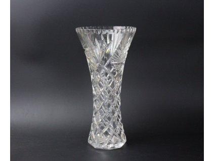 Skleněná váza Bohemia Crystal 26 cm x898 (11)
