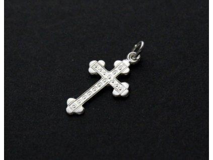 Stříbrný křížek JETELOVÝ (1)