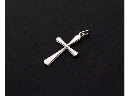 Stříbrný křížek KLÍČOVÝ