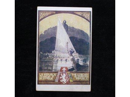 Vlastenecký pohled Jan Hus ukazuje cestu x982 (2)