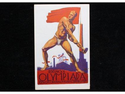Pohled II DĚLNICKÁ OLIMPIADA ČERVENEC 1927 x998 (2)