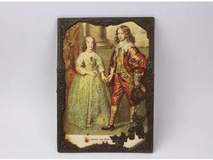 Starý Rámeček Děti Karla I. tisk x1149(1)