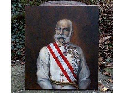 Obraz olej na plátně František Josef císař FJI x1150 (1)