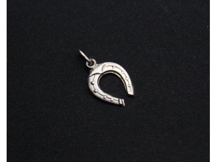 Stříbrný přívěšek na řetízek PODKOVA x1164 (2)