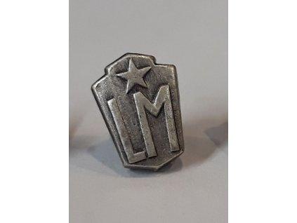 Z133 miniatura Lidové milice stříbrná (1)