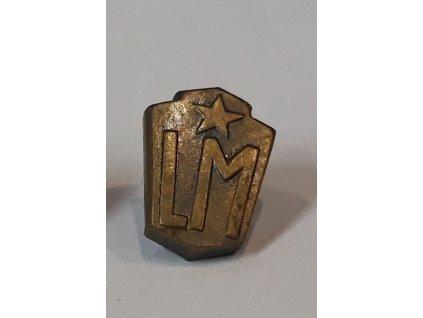 Z134 miniatura Lidové milice bronzová (1)